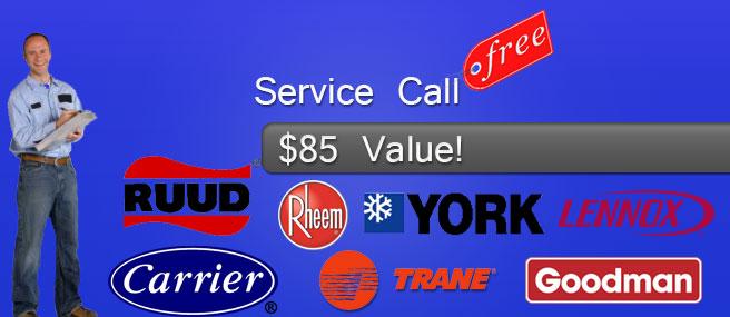 free service call air conditioning tamarac