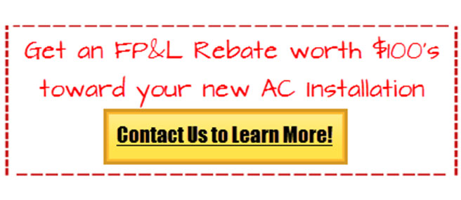 fpl rebate air conditioning tamarac