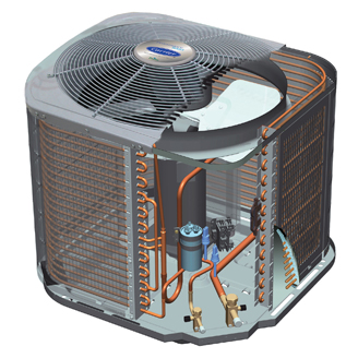 Carrier Performance 16 Central Air Conditioner Air